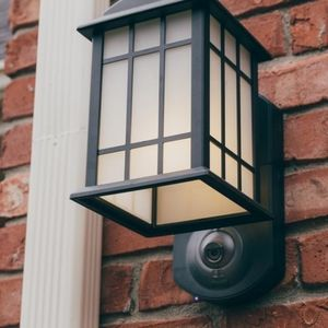 Porch Light & WiFi Security Camera All-in-One